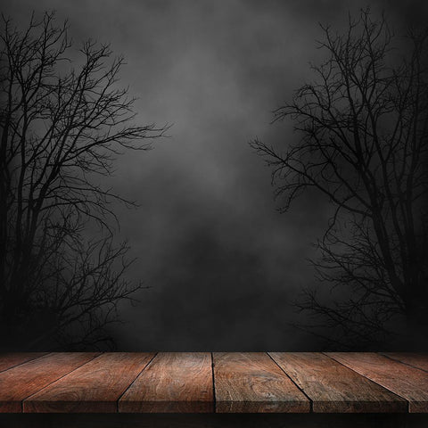 Halloween Backdrops Festival Backdrops Smoggy Backdrop Weird Wooden Background
