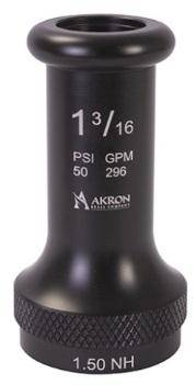 "Akron 1499 1 1/2"" Plain Smooth Bore Tip"