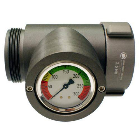Harrington In-Line Pressure Gauge