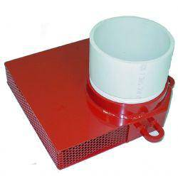 "Kochek 6"" Dry Hydrant Low Level PVC Strainer"