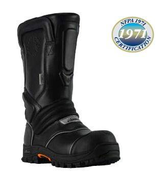 "Lion QR14 – 14"" Pull-On Leather Structural Boot"