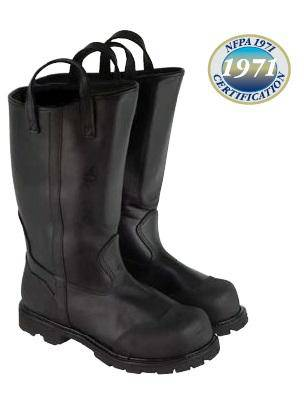 "Lion USA Oblique – 14"" Pull-On Leather Structural Boot"