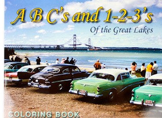 ABC's and 123's Coloring Book of the Great Lakes
