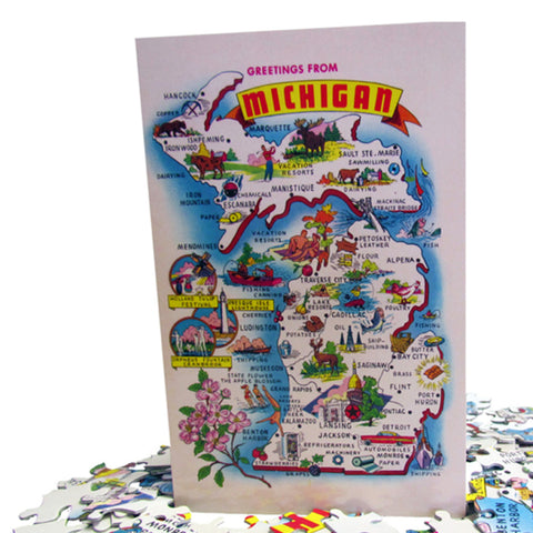 1960 Michigan Puzzle