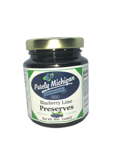 Blueberry Lime Preserves - 8oz
