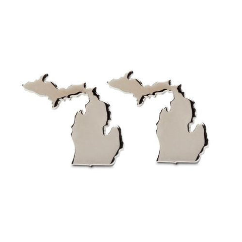 Michigan Travel Stainless Steel Stud Earrings - Nickel Free