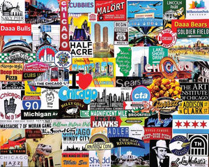 I Love Chicago Puzzle - 1000 pcs