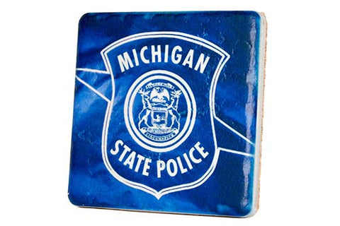 Michigan State Police Coaster
