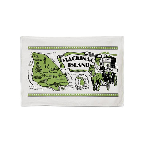 Mackinac Island Flour Sack Towel