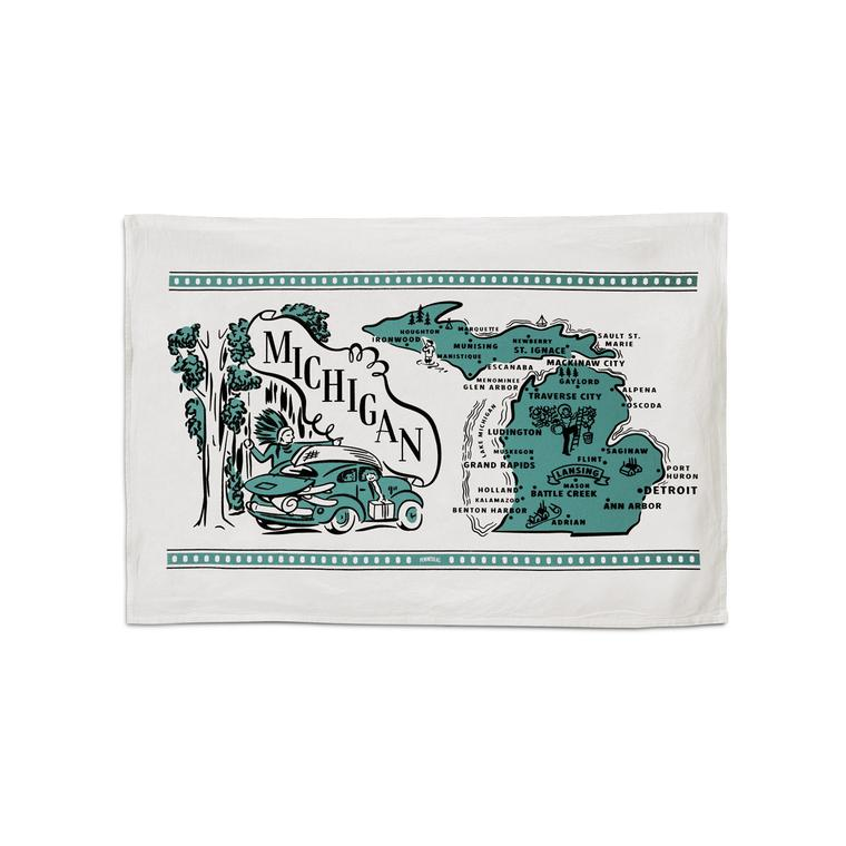 Michigan Flour Sack Towel