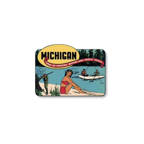 Michigan Land of Sticker