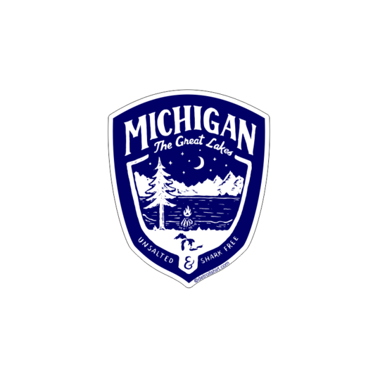 Sticker - Michigan Shield