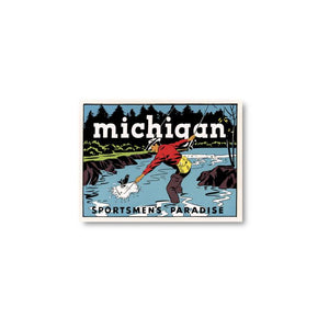 Michigan Sportsman Sticker