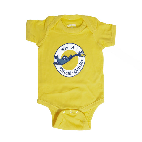 Michigander Infant One-Piece
