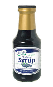 Blueberry Syrup - 14oz