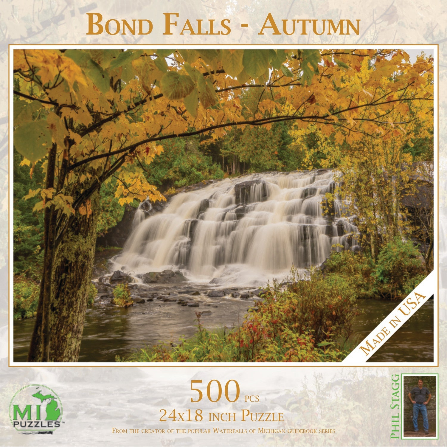 Bond Falls - Autumn Puzzle - 500 pcs