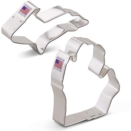 Upper and Lower Michigan Cookie Cutter