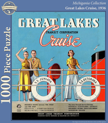 Great Lakes Cruise 1936 Puzzle
