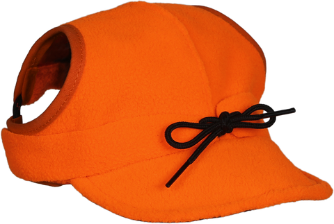 Critter Kromer Cap for Dogs and Pets - Blaze Orange