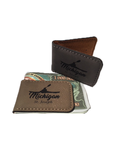 Kayak Michigan Money Clip