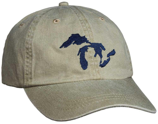 Great Lakes Weathered Cap