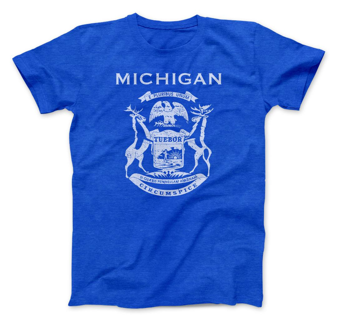 Michigan State Flag Tee
