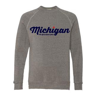 Michigan Triblend Fleece - Unisex
