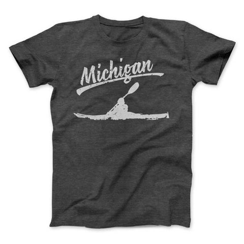 Michigan Kayak Distressed Tee
