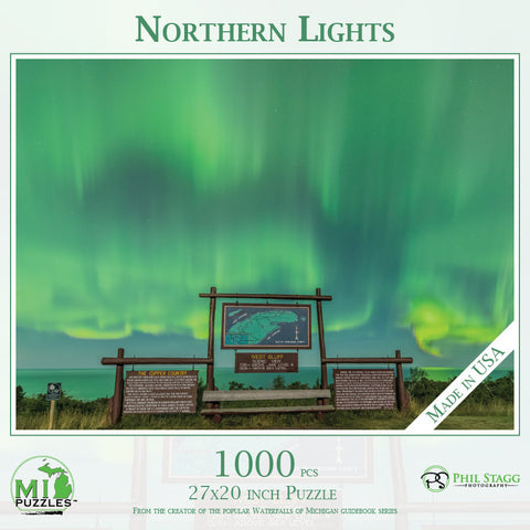 Northern Lights Puzzle - 1000 pcs