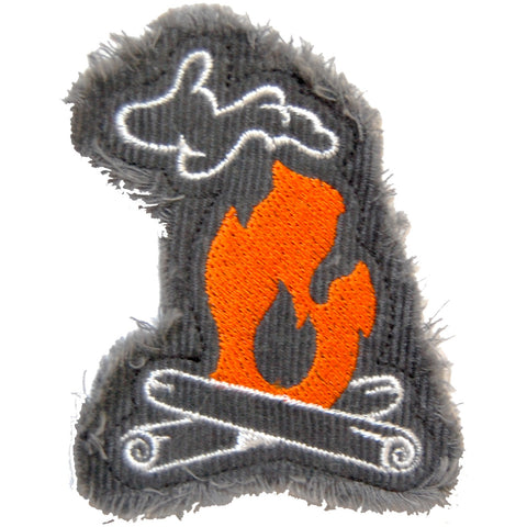 Michigan Campfire Patch