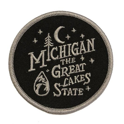 Patch - Michigan Vintage Font