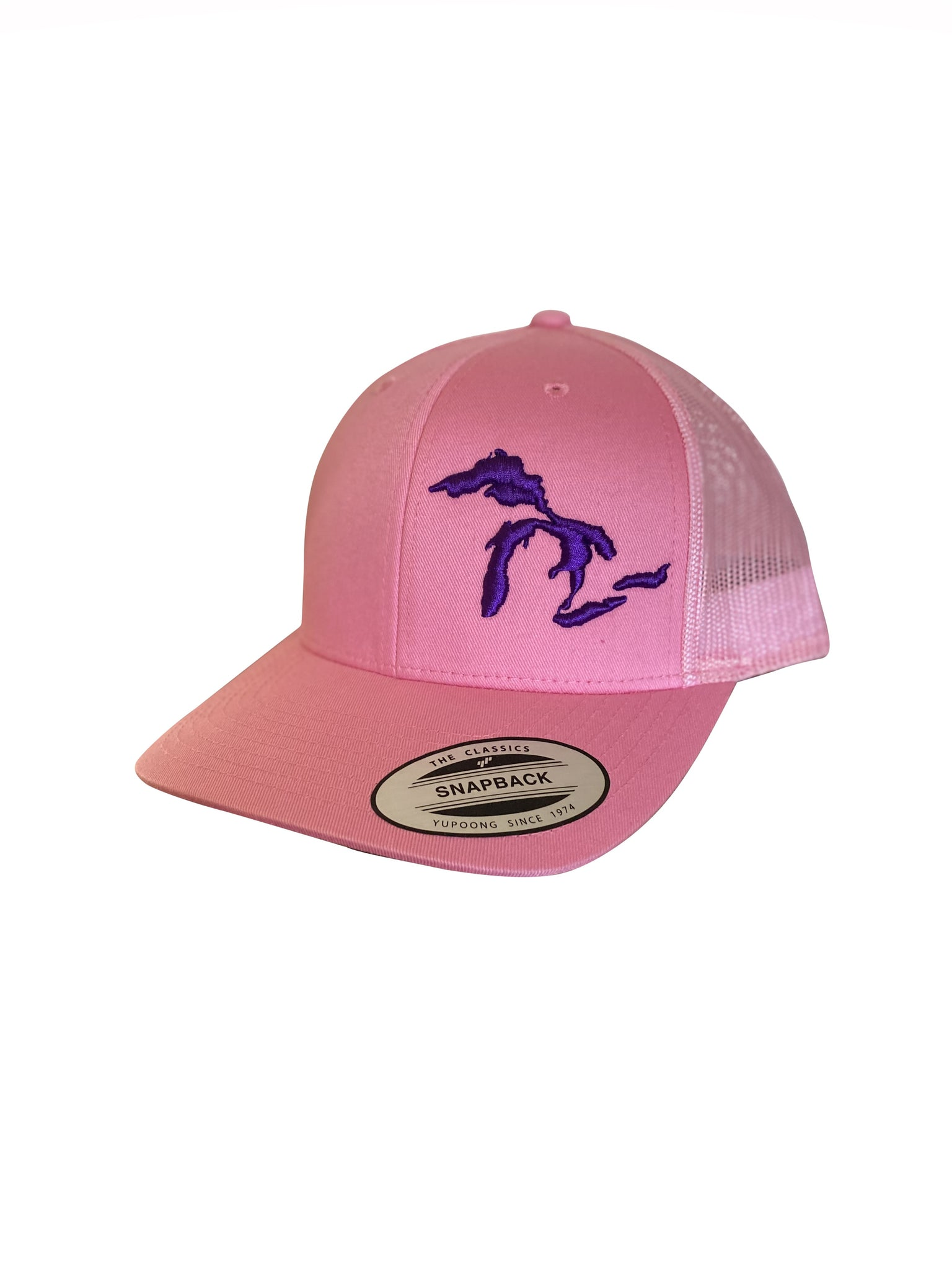 Great Lakes Trucker Hat - Pink/Purple