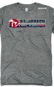 St Joseph Michigan/No Worries T-Shirt