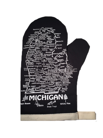 Michigan Oven Mitt