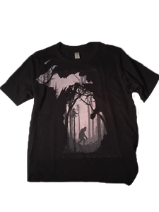 BigFoot Forest - Youth T-Shirt - Black