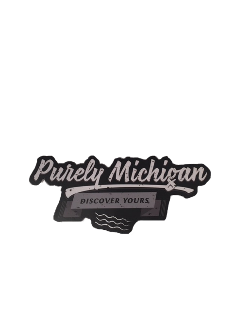Purely Michigan Sticker
