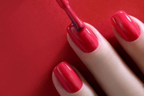 Shiny Red Nail Polish