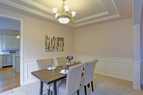 Dining Room with Moulding