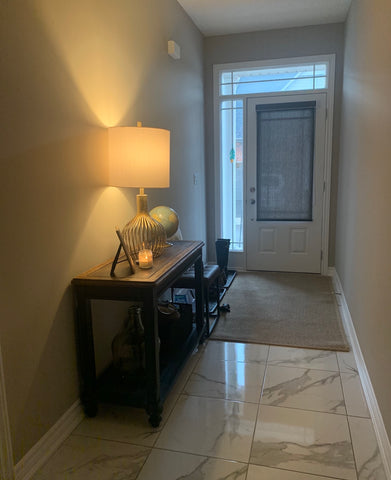 Image of Uncluttered House's entryway makeover before