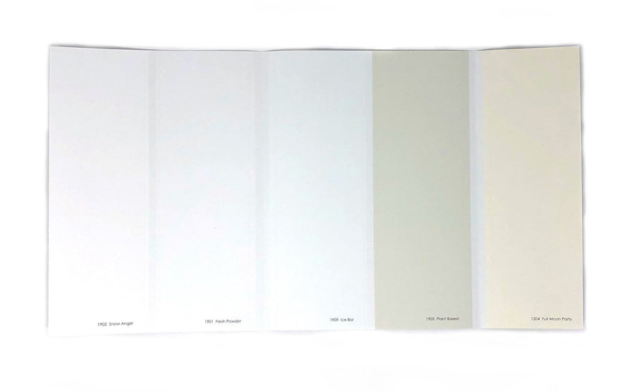 Colour Card: Whites - Digby Paints