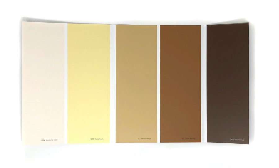 Colour Card: Yellows - Digby Paints