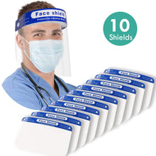 Load image into Gallery viewer, Protective Face Shield Mask Visor - Multiple Packs Available