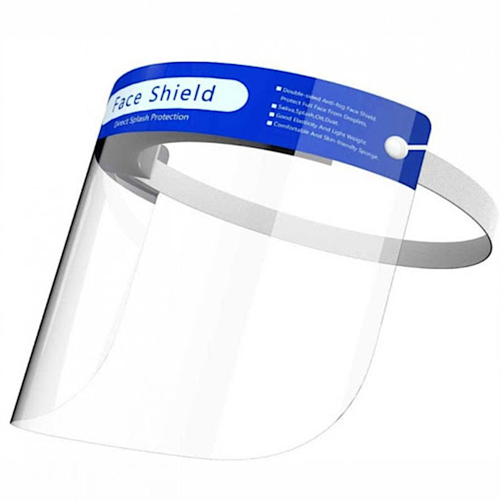 Protective Face Shield Mask Visor - Multiple Packs Available