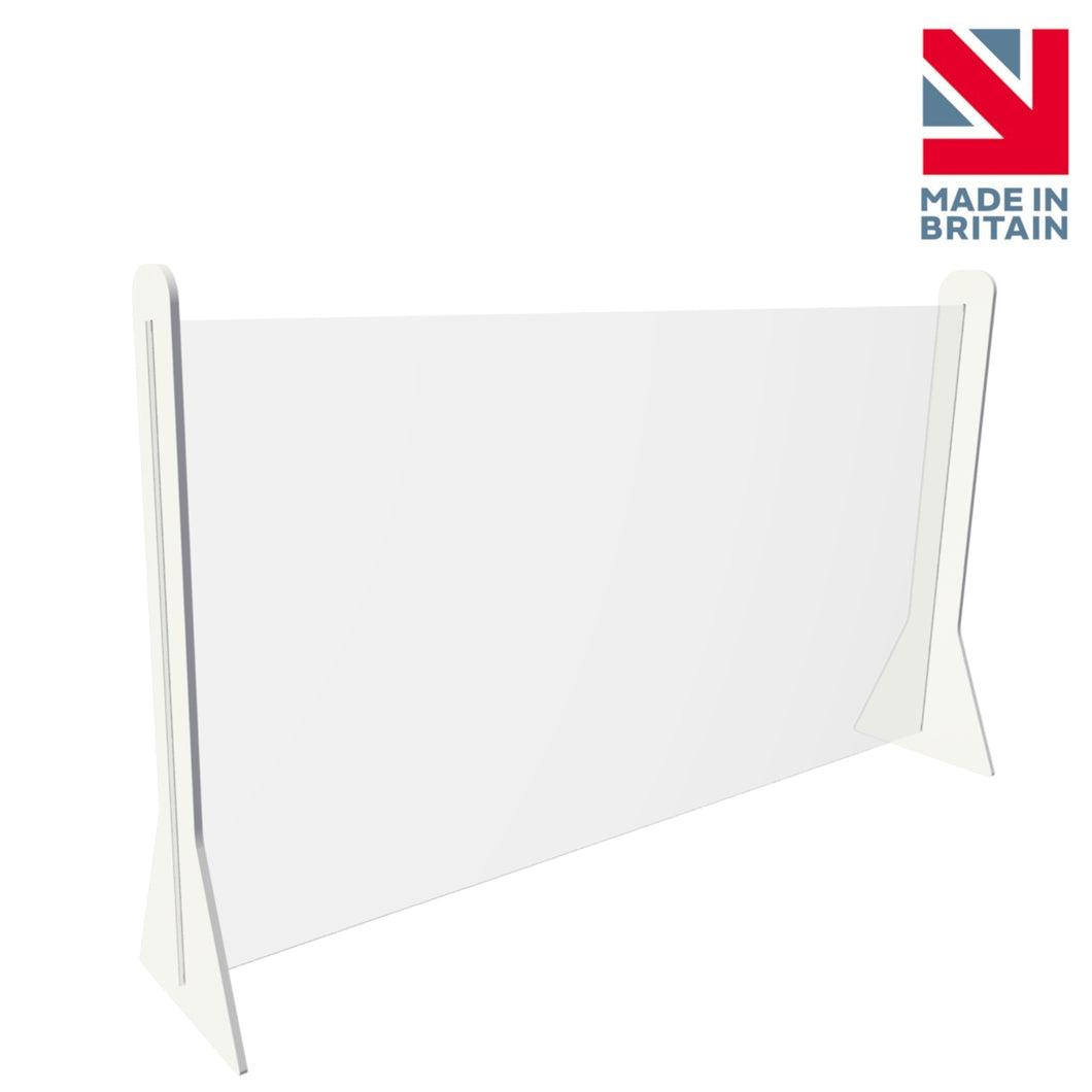 Sneeze Guard Office Table Partition Screen | 700 x 1200 mm