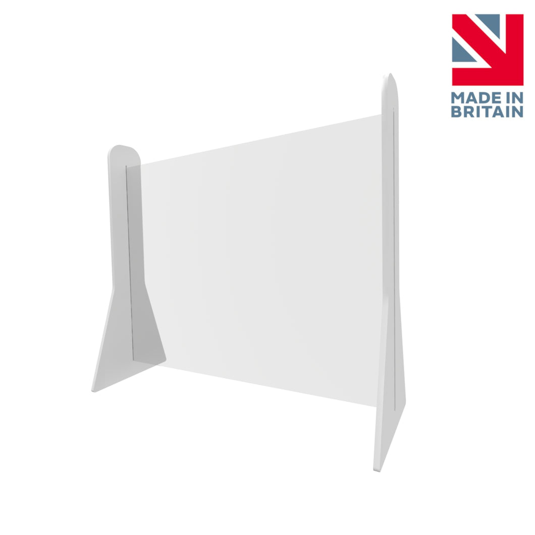 Sneeze Guard Office Table Partition Screen | 400 x 600 mm