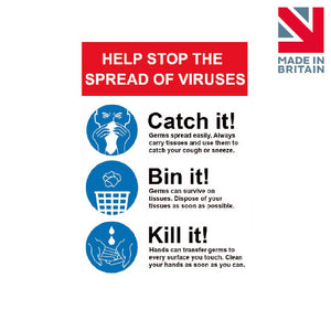 Sign | Catch it! Bin it! Kill it!
