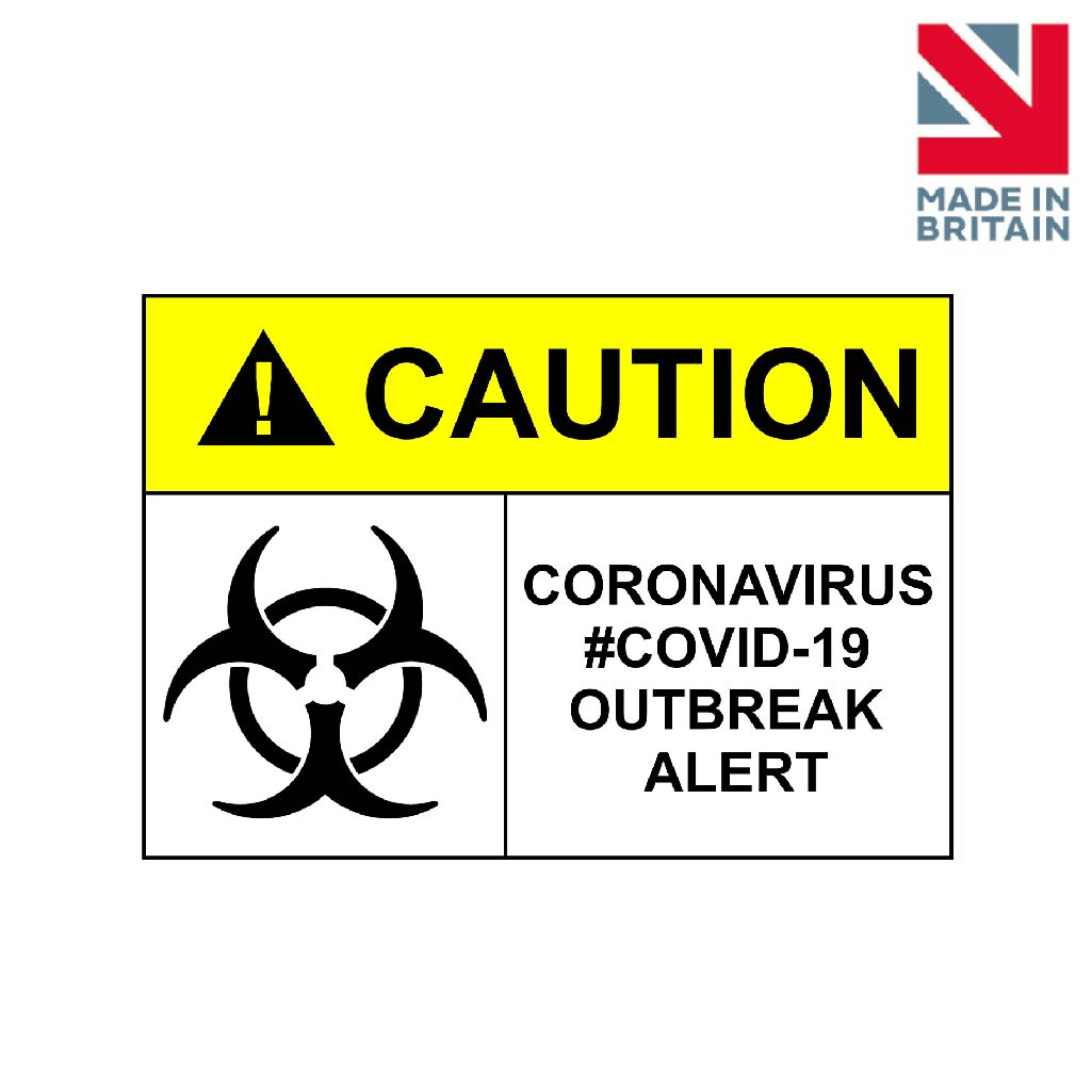 Sign | Caution Coronavirus