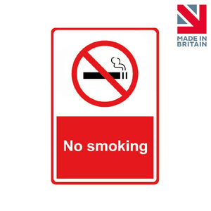 Sign | No smoking