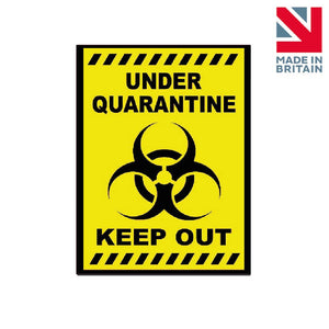 Sign | Under Quarantine