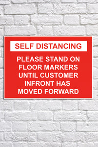 Sign | Self Distancing